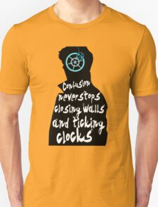 Coldplay lyrics on Sherlock T-Shirt