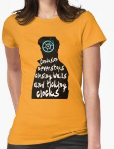 Coldplay lyrics on Sherlock Womens Fitted T-Shirt