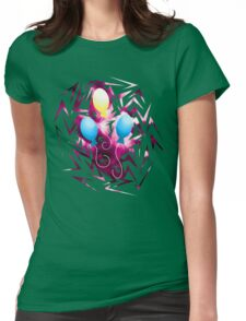 Pinkie Pie's Cutiemark Shards Womens Fitted T-Shirt