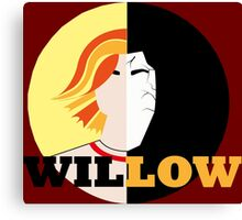 The Many Faces Of Willow Canvas Print