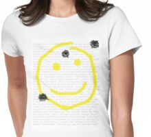 Smile for me Sherlock? Womens Fitted T-Shirt