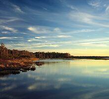 Sunset #2. Lake Gentry by chris kusik