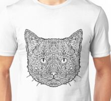 Ginger Tom Cat - Complicated Coloring Unisex T-Shirt