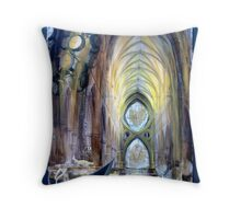 Navigating the River Styx Throw Pillow