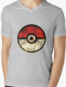 Pokéball Mens V-Neck T-Shirt