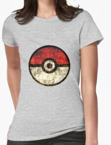 Pokéball Womens Fitted T-Shirt
