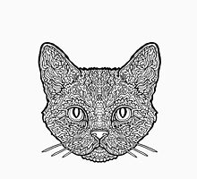 American Wirehair Cat - Complicated Coloring Unisex T-Shirt
