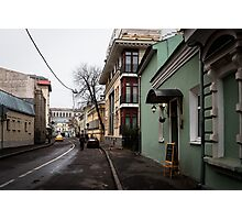 Old Moscow Lane Photographic Print