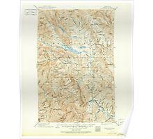 USGS Topo Map Washington State WA Chiwaukum 240513 1904 125000 Poster