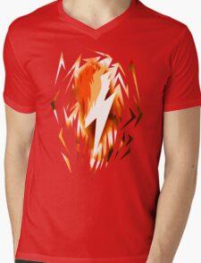 Spitfire Cutiemark Shards Mens V-Neck T-Shirt