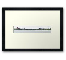 Ottawa - Panorama Framed Print