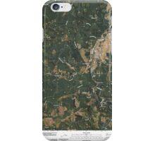 USGS Topo Map Washington State WA Pe Ell 20110406 TM iPhone Case/Skin