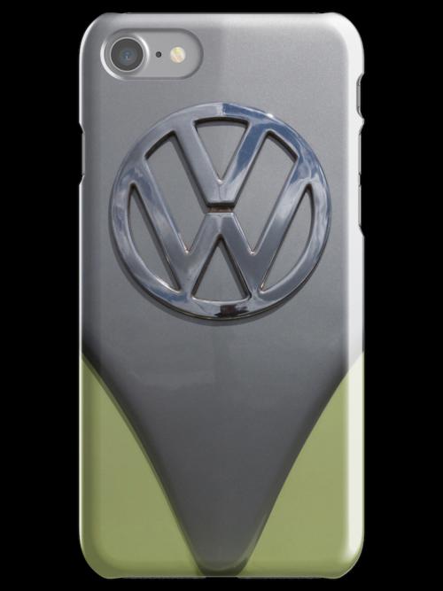 VW Camper van iPhone case by Martyn Franklin