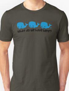 Whale Whale Whale (Dark Text) T-Shirt