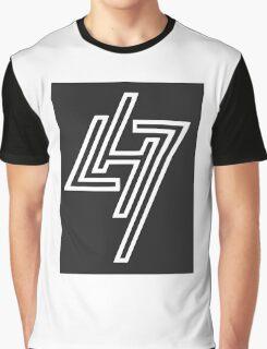 LUHAN 7 white Graphic T-Shirt