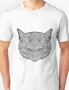 Manx Cat - Complicated Coloring T-Shirt