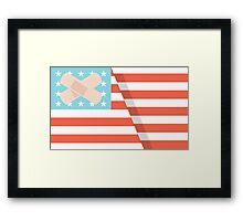 Ouchmerica  Framed Print