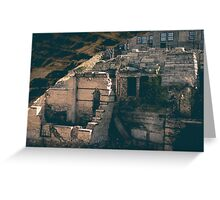 Mill City Ruins Greeting Card
