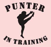 Punter In Training Kids Tee