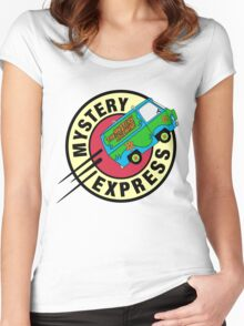 The Mystery Express Women's Fitted Scoop T-Shirt