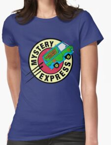 The Mystery Express Womens Fitted T-Shirt