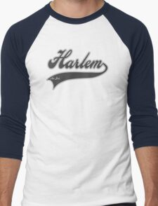 Harlem  - New York Men's Baseball ¾ T-Shirt