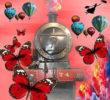 A lot of hot air! by Josephine Mulholland
