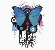 Butterflies and Alien Friends by creativenergy