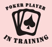 Poker Player In Training Baby Tee