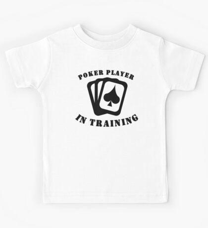 Poker Player In Training Kids Tee