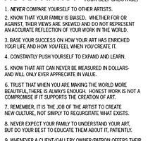 How to Feel Fulfilled as an Artist by BCallahan