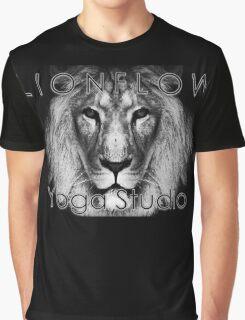 Lionflow Yoga Studio Sign Graphic T-Shirt