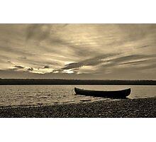 Quiet Canoe Photographic Print