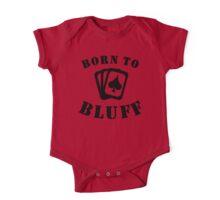 Born To Bluff One Piece - Short Sleeve
