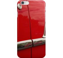 1955 Chevy chrome lines iPhone Case/Skin