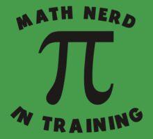 Math Nerd In Training Baby Tee