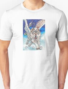 Winged Wolf Unisex T-Shirt
