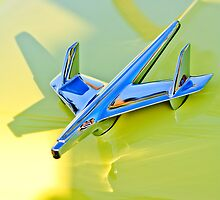 1955 Chevrolet BelAir Hood Ornament by Jill Reger