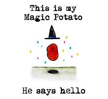 Magic Potato Photographic Print