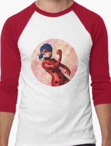 The Miraculous Ladybug Men's Baseball ¾ T-Shirt