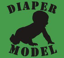 Diaper Model Kids Tee