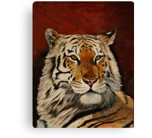 A Regal Tiger Canvas Print