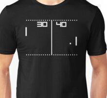 Vintage Tennis Video game Unisex T-Shirt