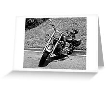 Riding in the Danger Zone Greeting Card