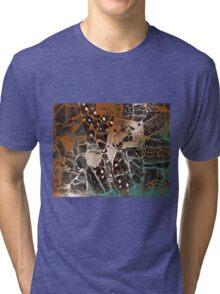 Autumn Abstract Tri-blend T-Shirt