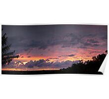 Sunrise panorama Poster