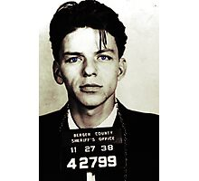 Mugshot Collection - Frank Sinatra Photographic Print