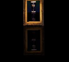Pint in a frame. by Josephine Mulholland