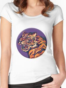 Tiger2 Women's Fitted Scoop T-Shirt