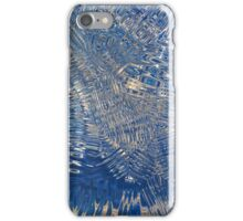 freeze glass with trees iPhone Case/Skin